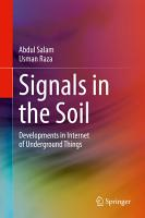Signals in the Soil PDF