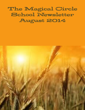 The Magical Circle School Newsletter August 2014 PDF