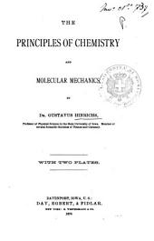 The Principles of Chemistry and Molecular Mechanics