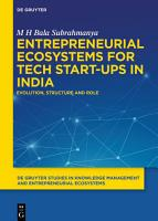 Entrepreneurial Ecosystems for Tech Start ups in India PDF