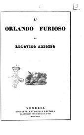 L' Orlando furioso di Lodovico Ariosto