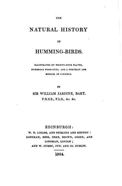 The Natural History of Humming birds      PDF