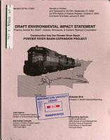 Construction Into the Powder River Basin  Powder River Basin Expansion Project PDF