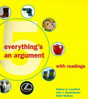 Everything s an Argument  With Readings  With Access Code  PDF