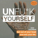 Unfu k Yourself 2020 Day to day Calendar