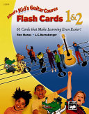 Kid's Guitar Course Flash Cards 1 & 2