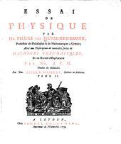 Essai De Physique: 2
