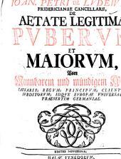 loan. Petri de Ludewig ... de aetate legitima puberum et maiorum ... Caesaris, regum [&c.] idque Europae universae, praesertim Germaniae: Volume 1