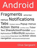 Android Fragments, Action Bar, Menus, Notifications and Tabs