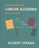 Introduction to Linear Algebra PDF