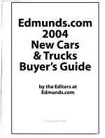 New Cars & Trucks Buyer's Guide