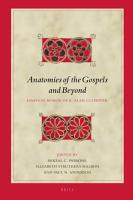 Anatomies of the Gospels and Beyond PDF