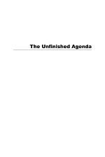 The Unfinished Agenda