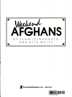 Weekend Afghans PDF