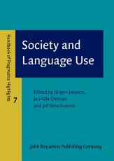 Society and Language Use PDF