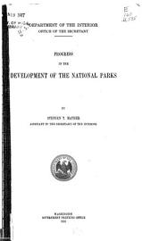 Progress In The Development Of The National Parks