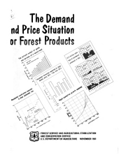 The Demand and price situation for forest products