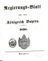 Regierungs-Blatt für das Königreich Bayern