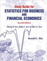 Study Guide for Statistics for Business and Financial Economics PDF
