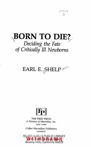 Born to Die?