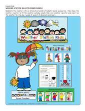 Weather Bulletin Board Set by Karen's Kids