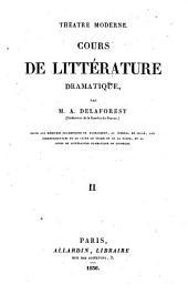 Théâtre moderne: Cours de littérature dramatique ...