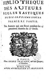 Des auteurs qui ont fleuri pendant les 25 prenières années du 17e siècle