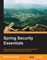 Spring Security Essentials PDF