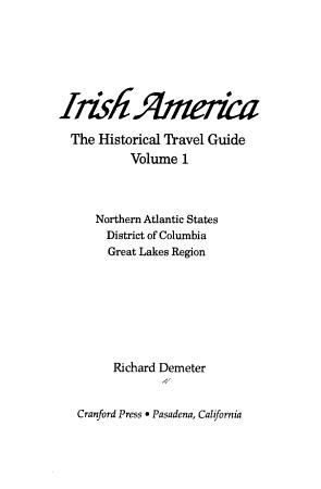 Irish America  Northern Atlantic states  District of Columbia  Great Lakes region PDF
