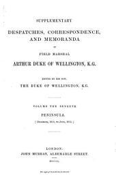 Supplementary Despatches, Correspondence, and Memoranda: Volume 7
