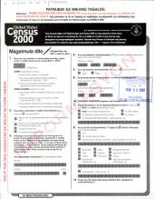 United States Census 2000, D-60A (TAGALOG).