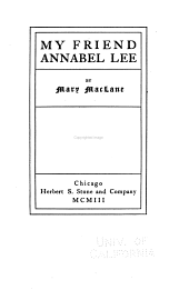 My Friend Annabel Lee