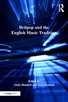 Britpop and the English Music Tradition PDF