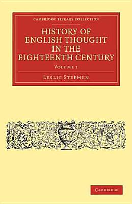 History of English Thought in the Eighteenth Century PDF