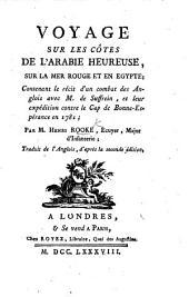 Voyage sur les Côtes de l'Arabie Heureuse, sur la Mer Rouge, et en Égypte ... Traduit de l'Anglais, d'après la seconde édition [by L. M. Langlès].