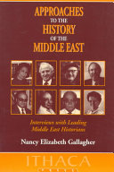 Approaches to the History of the Middle East PDF