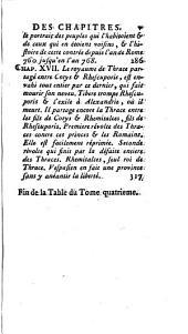 Histoire ancienne des peuples de l'Europe: Volume4