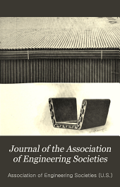 Journal of the Association of Engineering Societies: Volumes 32-33