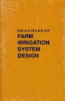 Principles of Farm Irrigation System Design PDF
