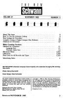 The New Schwann Book PDF