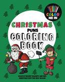 Christmas Puns Coloring Book