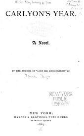 Carlyon's Year: A Novel