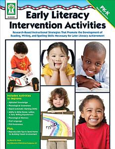Early Literacy Intervention Activities  Grades PK   K Book