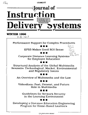 Journal of Instruction Delivery Systems PDF