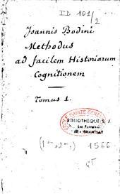 Methodus ad facilem historiarum cognitidem
