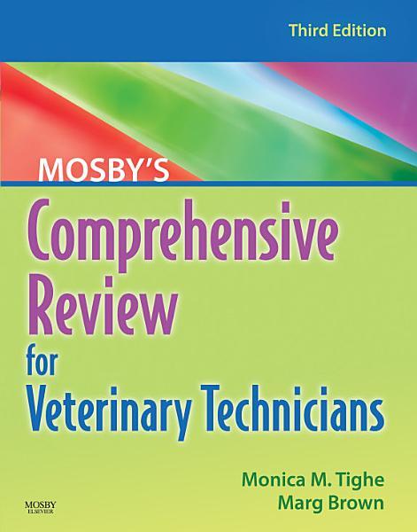 Mosby s Comprehensive Review for Veterinary Technicians   E Book PDF