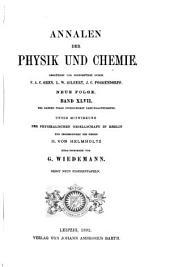 Annalen der Physik und Chemie: Band 47