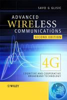 Advanced Wireless Communications PDF