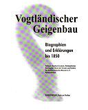Vogtl  ndischer Geigenbau PDF