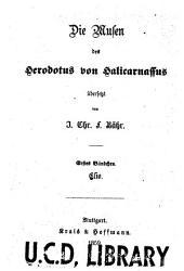 Die musen des Herodotus von Halikarnassus: Bände 1-6